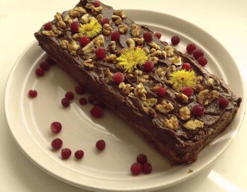 Šokoladinis avokado pyragas (pagal Beatos virtuvės receptą)