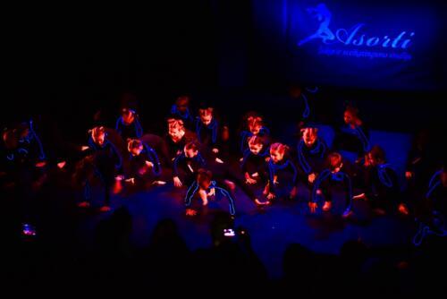 Šokio pasirodymai teatre 5